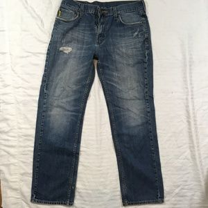 Nautica Jeans 34 x 32 Distressed  ( Excellent )